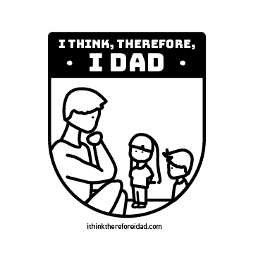 I Think Therefore I Dad Logo